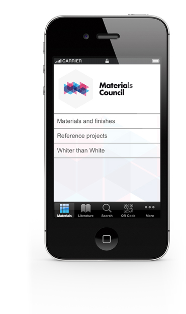 Download the Materials Council app for iPhone