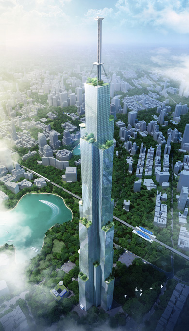 Sky City by Broad Group