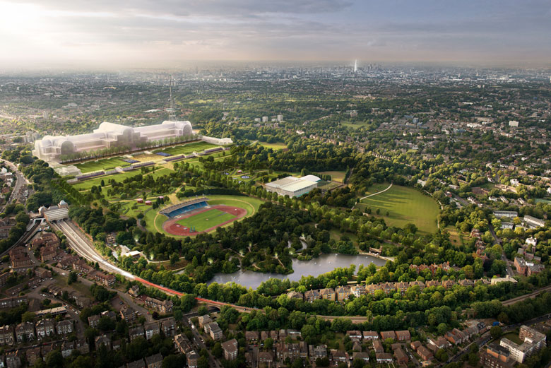 The new Crystal Palace masterplan