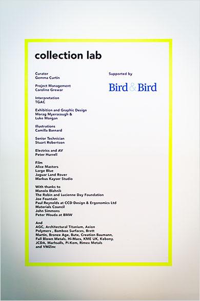 Materials Council at Design Museum