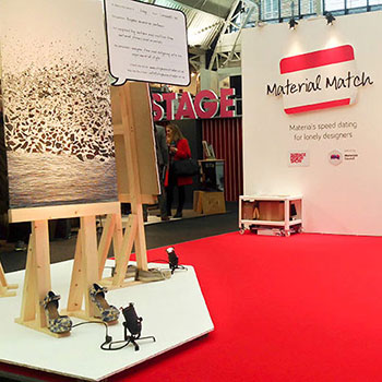 Material Match at Surface Design Show