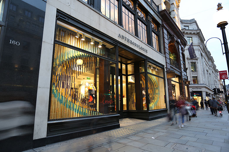 RIBA Regent Street Window installation