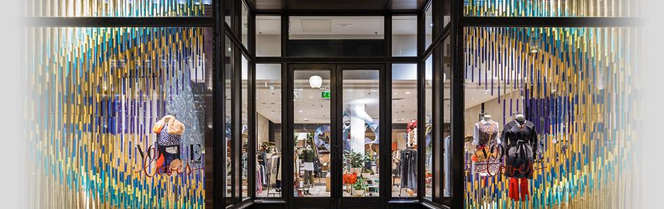 RIBA Regent Street Windows installation