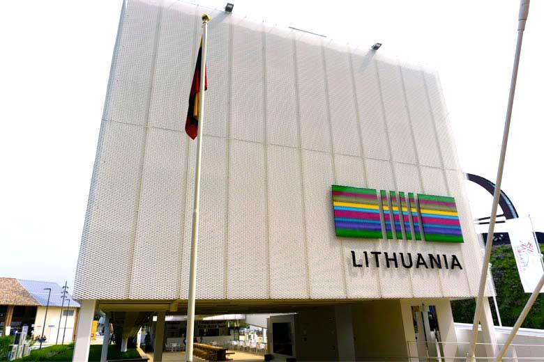 Lithuanian pavilion