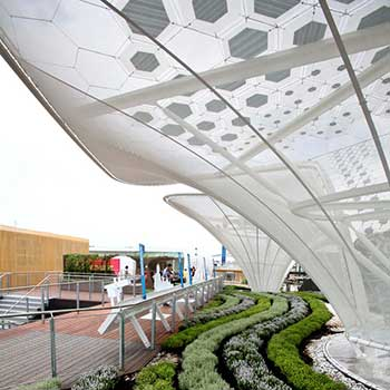 Expo Milano 2015 materials tour: textile