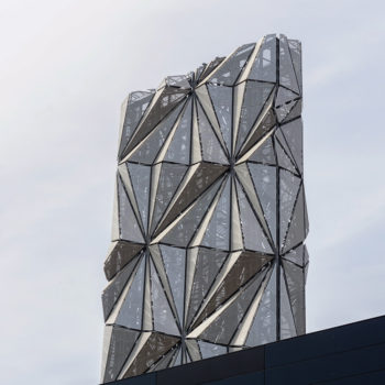 Project report: Conrad Shawcross and C.F. Møller 'Optic Cloak'