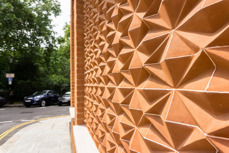 Project report: Squire and Partners 'Kingwood' brickwork